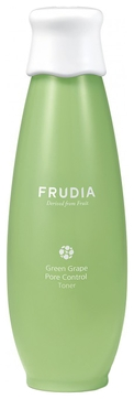frudia сыворотка green grape pore control serum себорегулирующая с зеленым виноградом 50г Frudia Тонер Green Grape Pore Control Toner Себорегулирующий для Лица с Виноградом, 195 мл