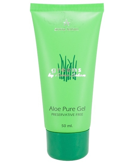 Anna Lotan Гель Greens Aloe Pure Natural Gel Гринс Алоэ-Вера, 125 мл
