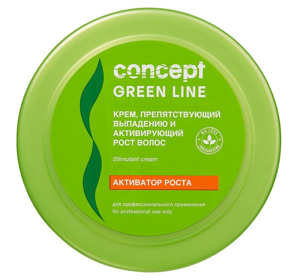 Concept Крем Hair Loss Reducing and Stimulant Cream против Выпадению и Активации Роста Волос, 300 мл