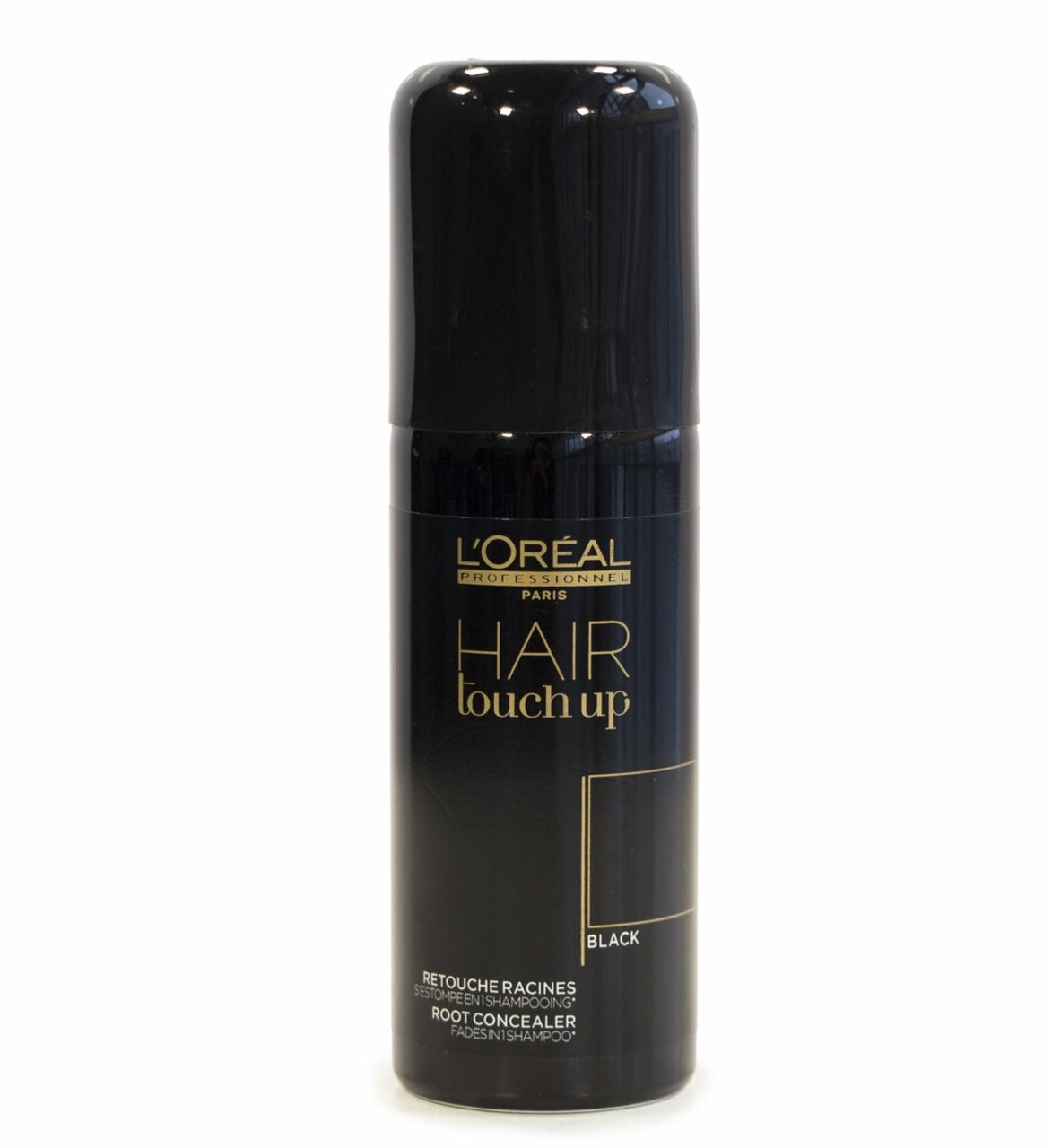 LOreal Professionnel Консилер Hair Touch Up для Волос Хэйр Тач Ап Черный, 75 мл