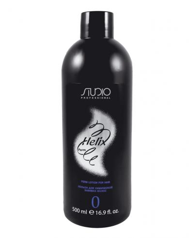Kapous Лосьон Helix Perm-0 для Химической Завивки Волос, 500 мл набор химической завивки лосьон для завивки волос k wave 2 80мл лосьон нейтрализатор k wave 100мл