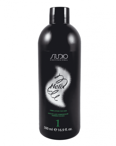 Kapous Лосьон Helix Perm-1 для Химической Завивки Волос, 500 мл состав для щадящей химической завивки окрашенных волос trioform save g 1 л