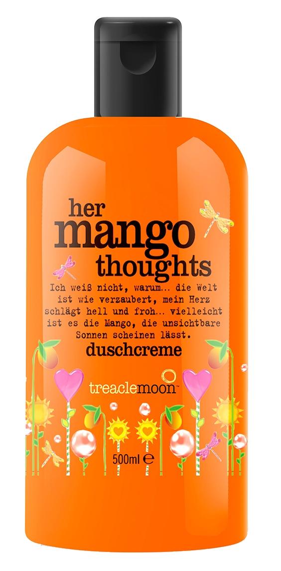 Treaclemoon Гель Her Mango Thoughts Bath & Shower Gel для Душа Задумчивое Манго, 500 мл
