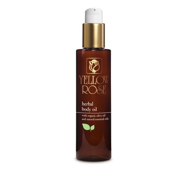 Yellow Rose Масло Herbal Body Oil для Тела с Растительными Экстрактами, 200 мл
