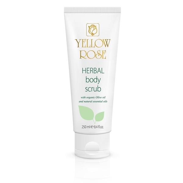 Yellow Rose Скраб Herbal Body Scrub для Тела с Растительными Экстрактами, 250 мл yellow rose скраб herbal body scrub для тела с растительными экстрактами 250 мл