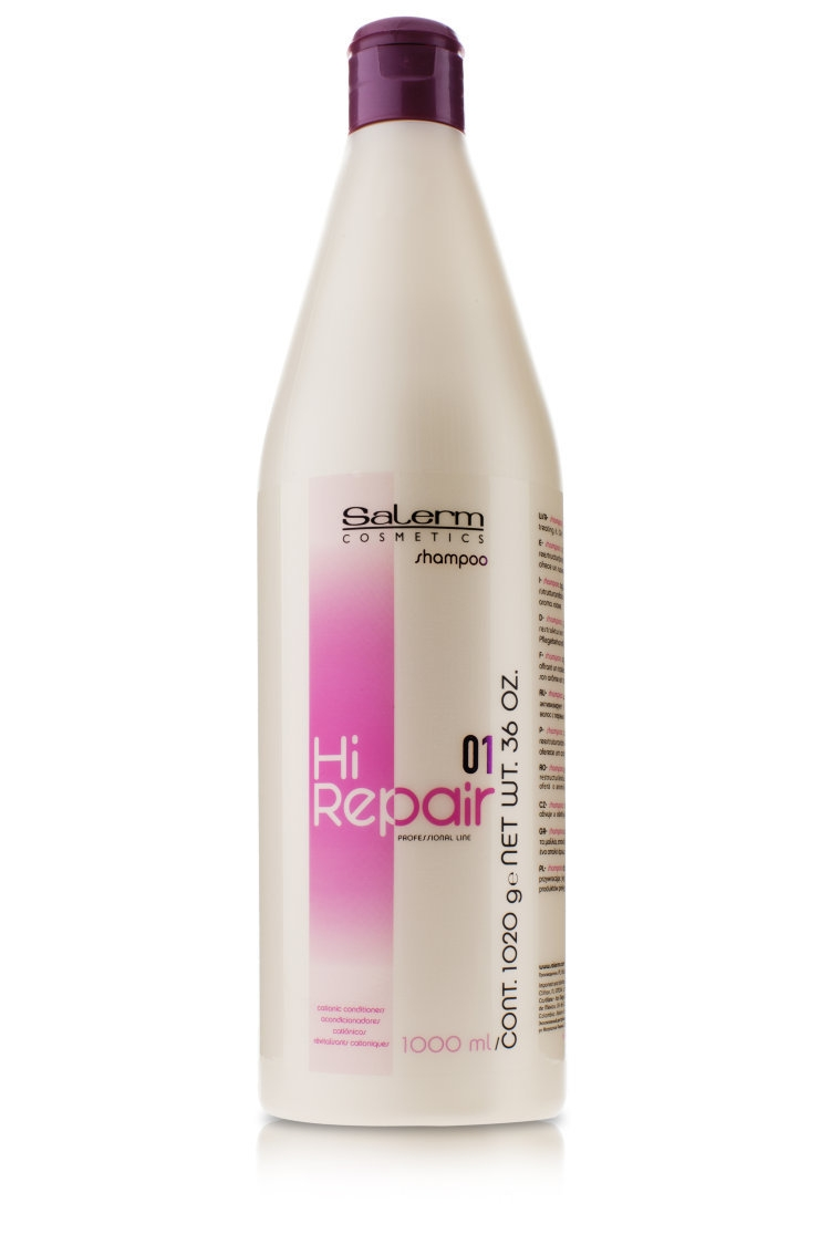 Salerm Cosmetics Шампунь Hi Repair Anti-Age Восстановление, 1000 мл