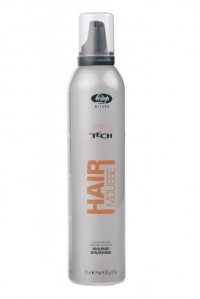 Lisap Мусс для Укладки Волос Нормальной Фиксации High Tech Hair Mousse Brushing, 300мл lisap milano лак сильной фиксации без газа для укладки волос hair no gas strong high tech 300мл