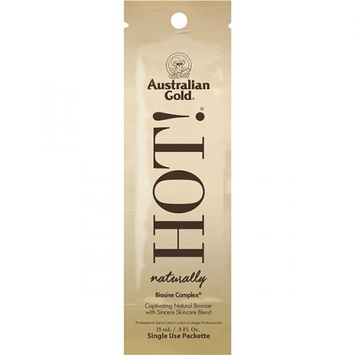 купить Аustralian Gold Витаминный Комплекс для Загара с Ярко Выраженной Коррекцией Оттенка Загара Hot Naturally, 15 мл по цене 765 рублей