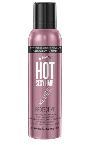 Sexy Hair Спрей Hot Protect Me Термозащитный для Волос, 155 мл