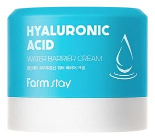 FarmStay Крем Hyaluronic Acid Water Barrier Cream Увлажняющий Защитный с Гиалуроновой Кислотой, 80 мл