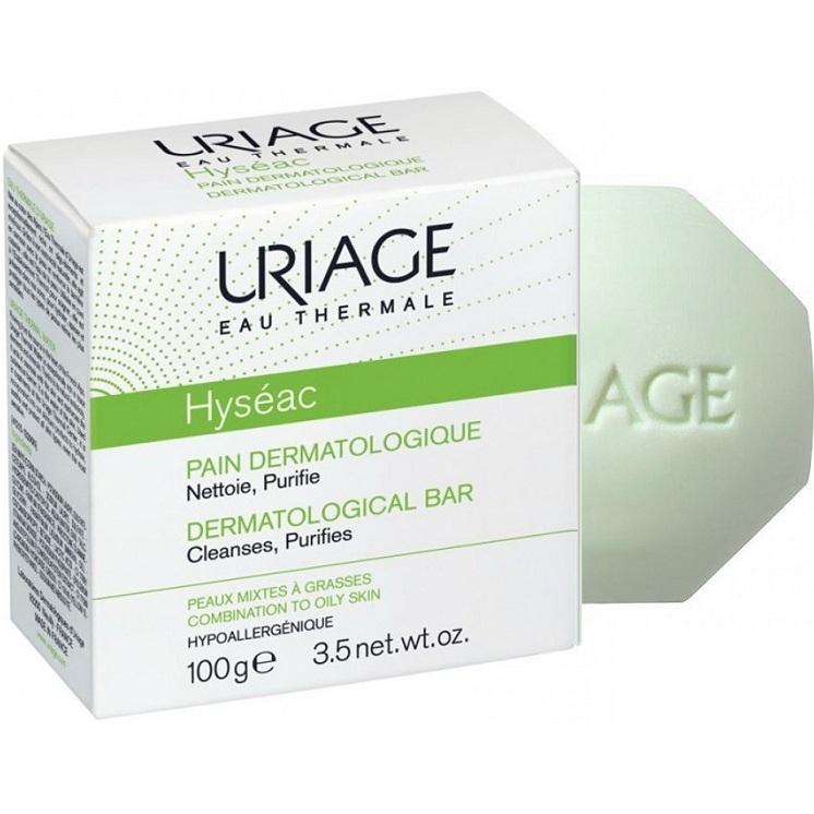 Uriage Мыло Hyseac Дерматологическое Брусок Исеак, 100 гр hyseac restructurant creme uriage