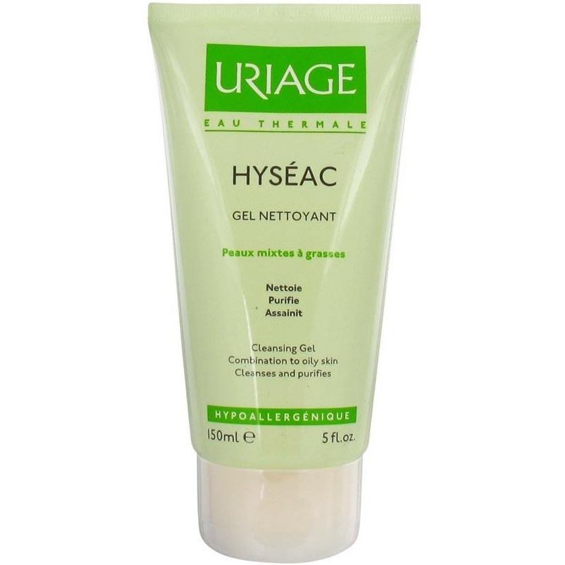 Uriage Гель Hyseac Мягкий Очищающий Исеак, 150 мл