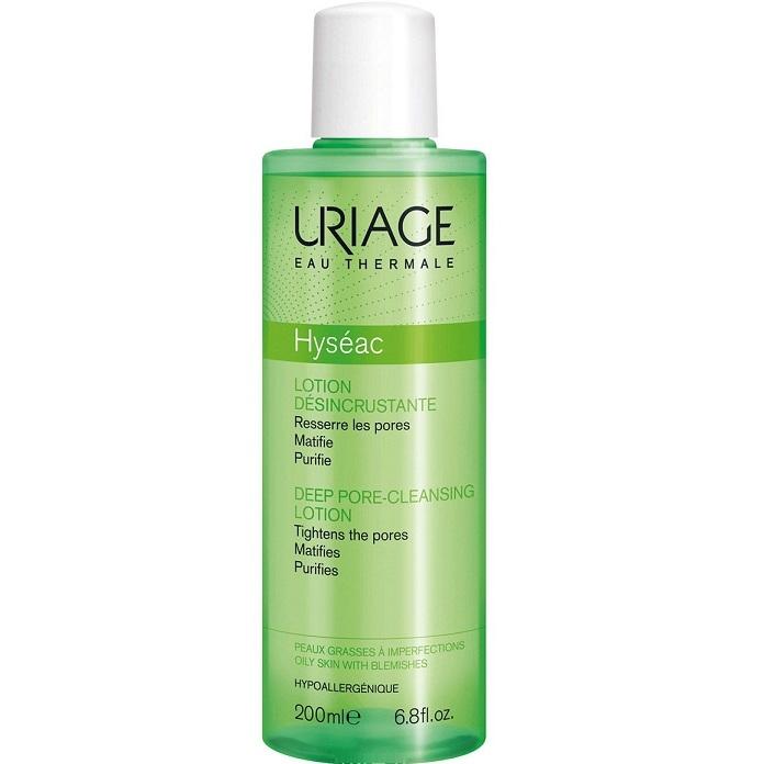 Uriage Лосьон Hyseac для Глубокого Очищения Пор Флакон Исеак, 200 мл hyseac restructurant creme uriage