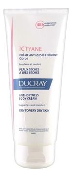 Ducray Крем Ictyane Питательный для Сухой Кожи, 200 мл ducray неоптид лосьон от выпадения волос для мужчин 100 мл