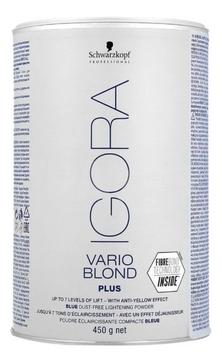 Schwarzkopf Порошок Igora Vario Blond Plus Осветляющий для Волос, 450гр