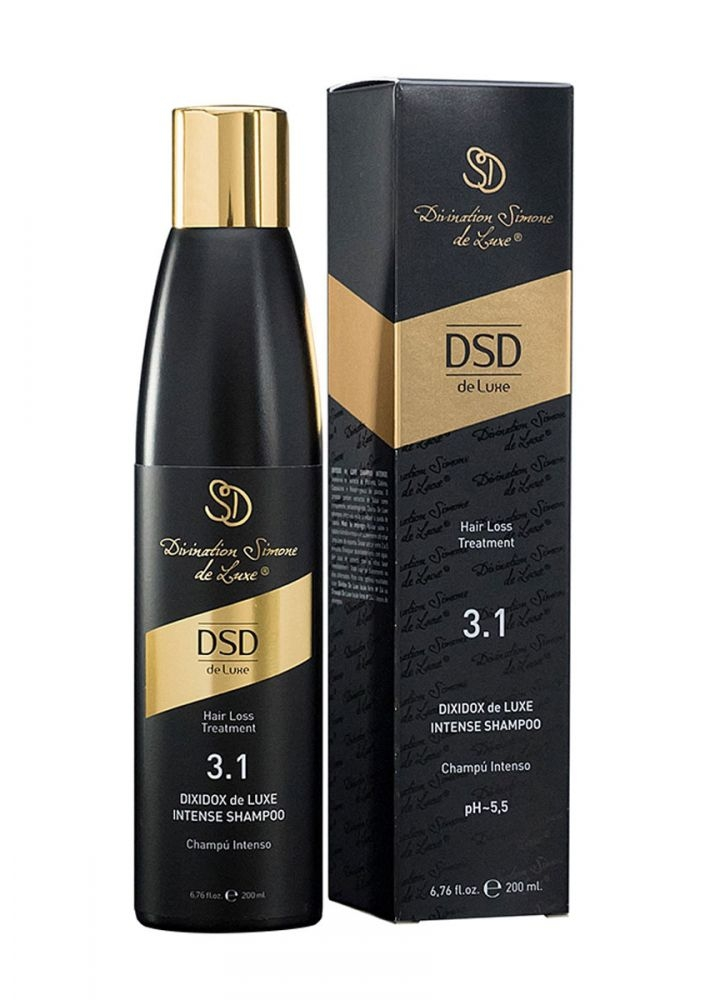Divination Simone de Luxe Шампунь Intense Shampoo № 3.1 Интенсивный Диксидокс Де Люкс, 200 мл