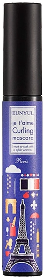 Eunyul Тушь Подкручивающая Je T'aime Curling Mascara, 7 мл тушь для ресниц pupa ultraflex mascara подкручивающая 10 мл 01 extrablack