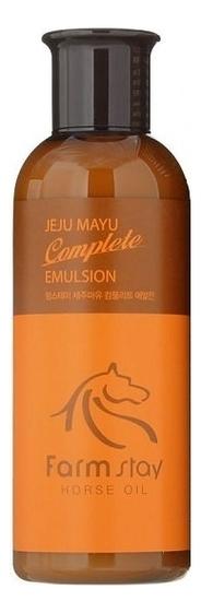 FarmStay Эмульсия с Лошадиным Маслом Jeju Mayu Complete Emulsion, 200 мл farmstay jeju mayu набор для ухода за руками и ногами с лошадиным маслом 100 100 г