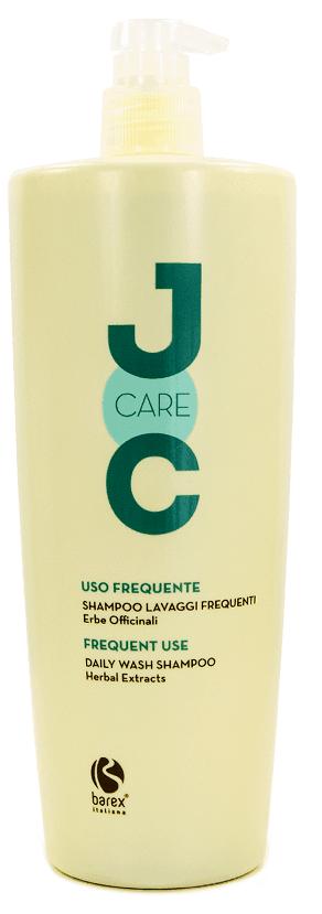 Barex Шампунь Joc Care Shampoo Lavaggi Frequenti Erbe Officinali для Частого Использования Лечебные травы, 1000 мл