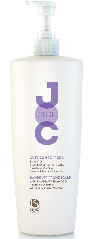 Barex Шампунь Joc Cure Anti-Dandruff Shampoo Против Перхоти с Пироктон оламином, Исландским лишайником и Лавандой, 1000 мл