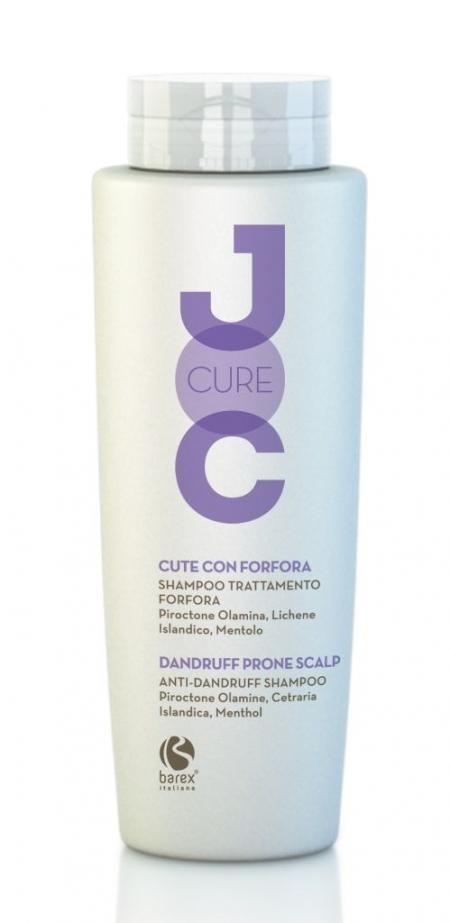 Barex Шампунь Joc Cure Anti-Dandruff Shampoo Против Перхоти с Пироктон оламином, Исландским лишайником и Лавандой , 250 мл