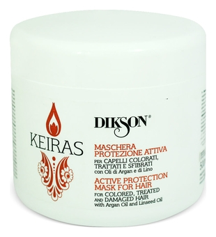 Dikson Маска Keiras Maschera Protezione Attiva Активная Защита для Окрашенных Волос, 500 мл