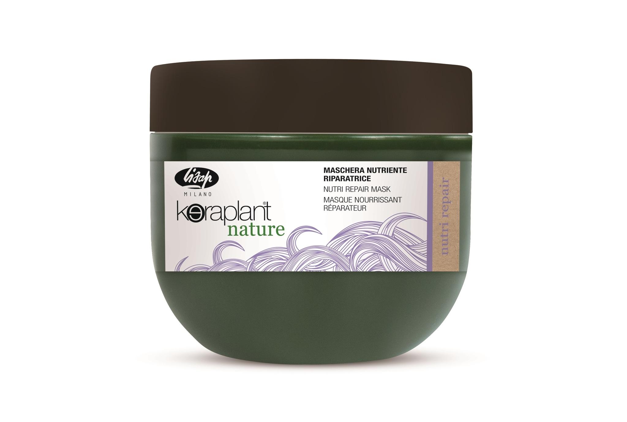 Lisap Маска Питательная Восстанавливающая для Волос Keraplant Nature Nutri Repair Mask, 50 мл
