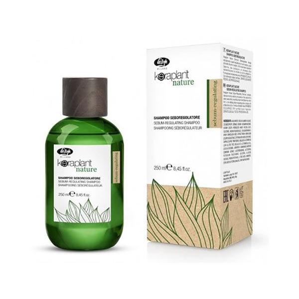 Lisap Шампунь Себорегулирующий Keraplant Nature Sebum-Regulating Shampoo, 250 мл