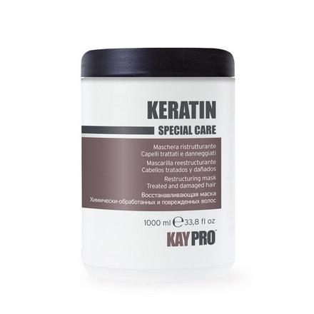 Фото - KAYPRO Маска Keratin Восстанавливающая с Кератином, 1000 мл kaypro tecni sleek выпрямляющий крем для волос с кератином шаг 2 1000 мл