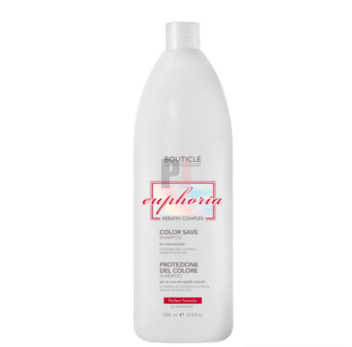 Bouticle Шампунь для Окрашенных Волос с Keratin & Protein Complex - Color Save Shampoo, 1000 мл