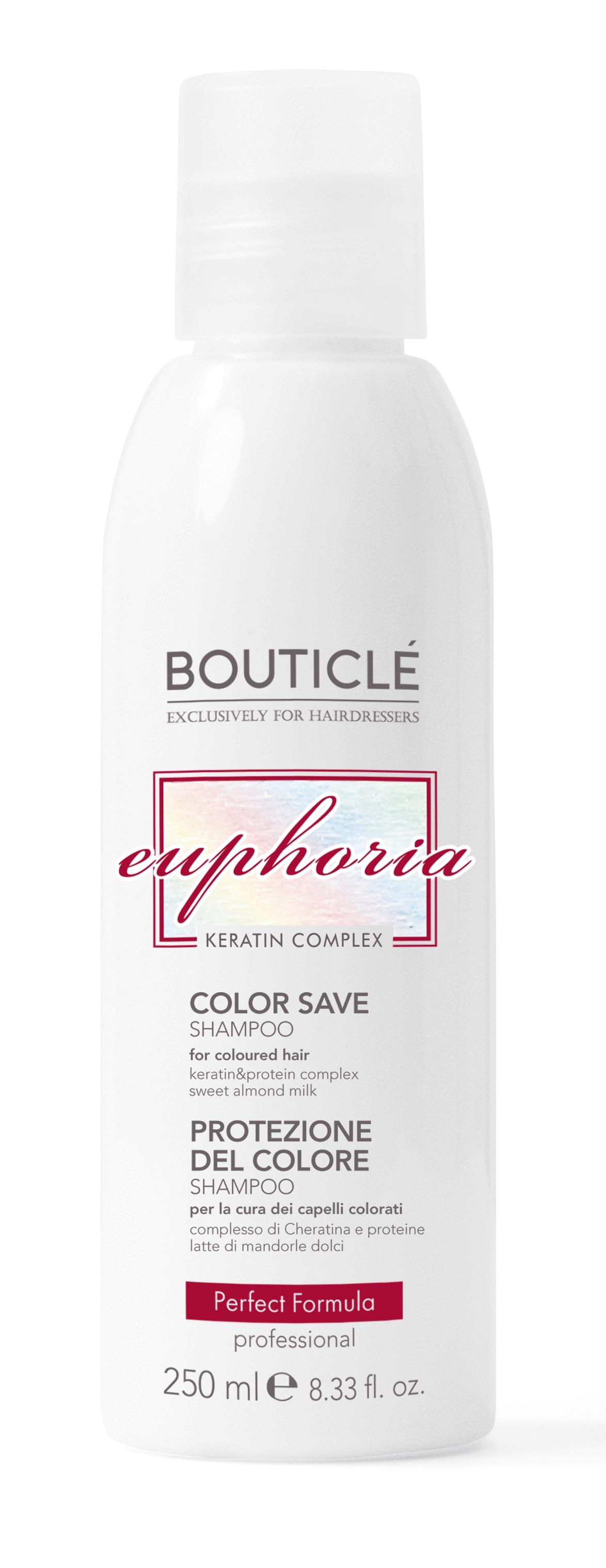 Bouticle Шампунь для Окрашенных Волос с Keratin & Protein Complex - Color Save Shampoo, 250 мл