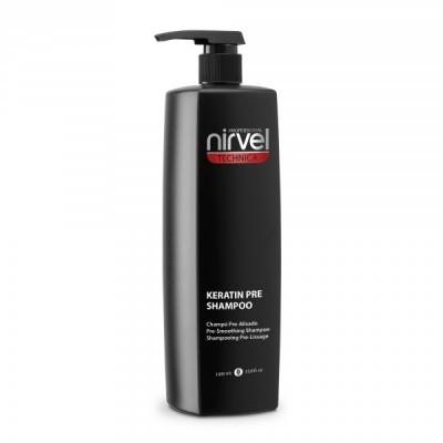Nirvel Professional Шампунь Keratin Shampoo Pre №1 Кератиновый, 1000 мл nirvel professional шампунь keratin