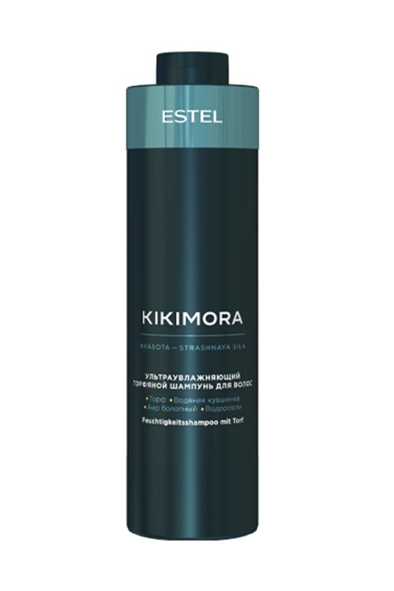 ESTEL Шампунь Kikimora для Волос Ультраувлажняющий Торфяной, 1000 мл estel шампунь kikimora для волос ультраувлажняющий торфяной 250 мл