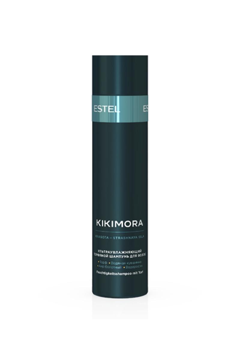 ESTEL Шампунь Kikimora для Волос Ультраувлажняющий Торфяной, 250 мл estel шампунь kikimora для волос ультраувлажняющий торфяной 250 мл
