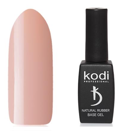 Kodi Professional Гель Kodi Natural Rubber Base Ivory Цветной Базовый, 12 мл