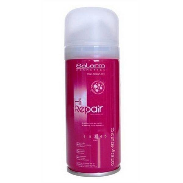 Salerm Cosmetics Лак Laca Hi Repair для Волос Сильной Фиксации, 100 мл salerm cosmetics тоник hi reair завершающий для защиты волос 100 мл