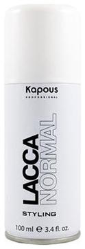 Kapous Лак Lacca Normal Аэрозольный для Волос Нормальной Фиксации, 100 мл kapous лак аэрозольный для волос нормальной фиксации 750мл