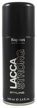 Kapous Лак Lacca Strong Аэрозольный для Волос Сильной Фиксации, 100 мл kapous professional лак аэрозольный для волос сильной фиксации 750 мл