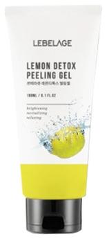 Lebelage Отшелушивающий Гель с Экстрактом Лимона Lemon Detox Peeling Gel, 180 мл
