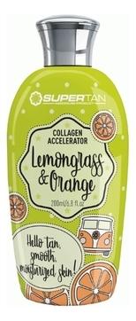 Supertan Ускоритель Загара Lemongrass & Orange Сенсационный в Солярии с Коллагеном, 200 мл