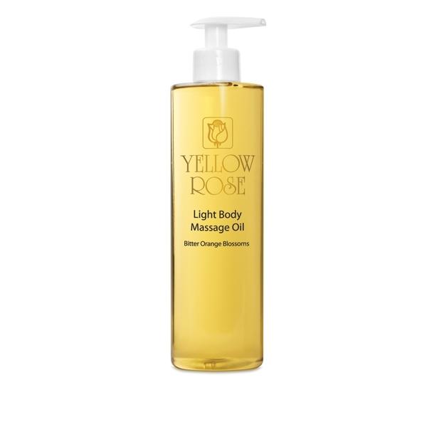 Yellow Rose Масло Light BodyMassage Oil - Bitter Orange Blossoms для Тела с Эфирным Маслом Нероли, 500 мл