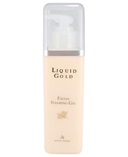 Anna Lotan Гель Liquid Gold Facial Foaming Gel Золотой Очищающий, 200 мл