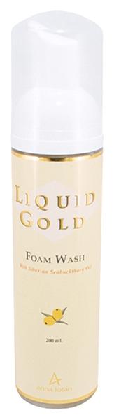 Anna Lotan Пенка Liquid Gold Foam Wash Жидкая Облепиховая Золотая, 200 мл