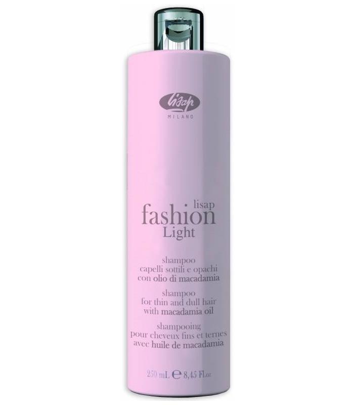 Lisap Шампунь для Тонких и Ослабленных Волос Fashion Light Shampoo, 250 мл
