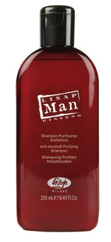 Lisap Шампунь для Волос против Перхоти Мужчин Man Anti-Dandruff Purifying Shampoo, 250 мл