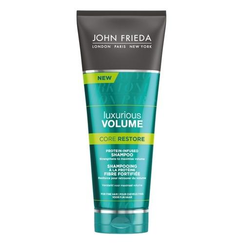John Frieda Шампунь для Волос с Протеином Luxurious Volume Core Restore, 250 мл john frieda luxurious volume core restore лосьон для создания объема с протеином 60 мл