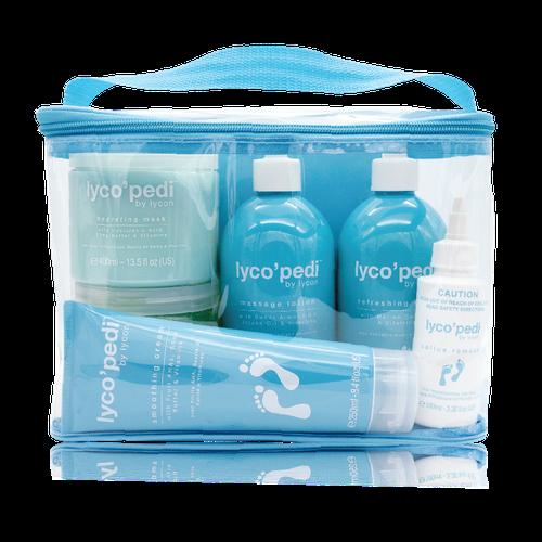 Lycon Набор Lyco'pedi Professional Kit Профессиональный для Педикюра, 1 шт