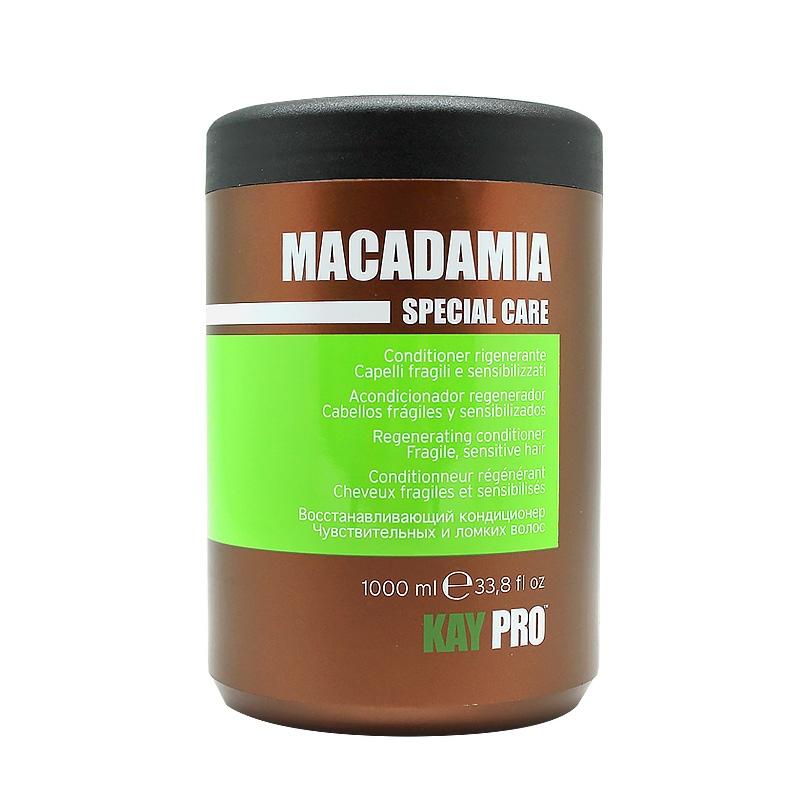 kaypro шампунь macadamia KAYPRO Кондиционер Macadamia Увлажняющий с Маслом Макадамии, 1000 мл