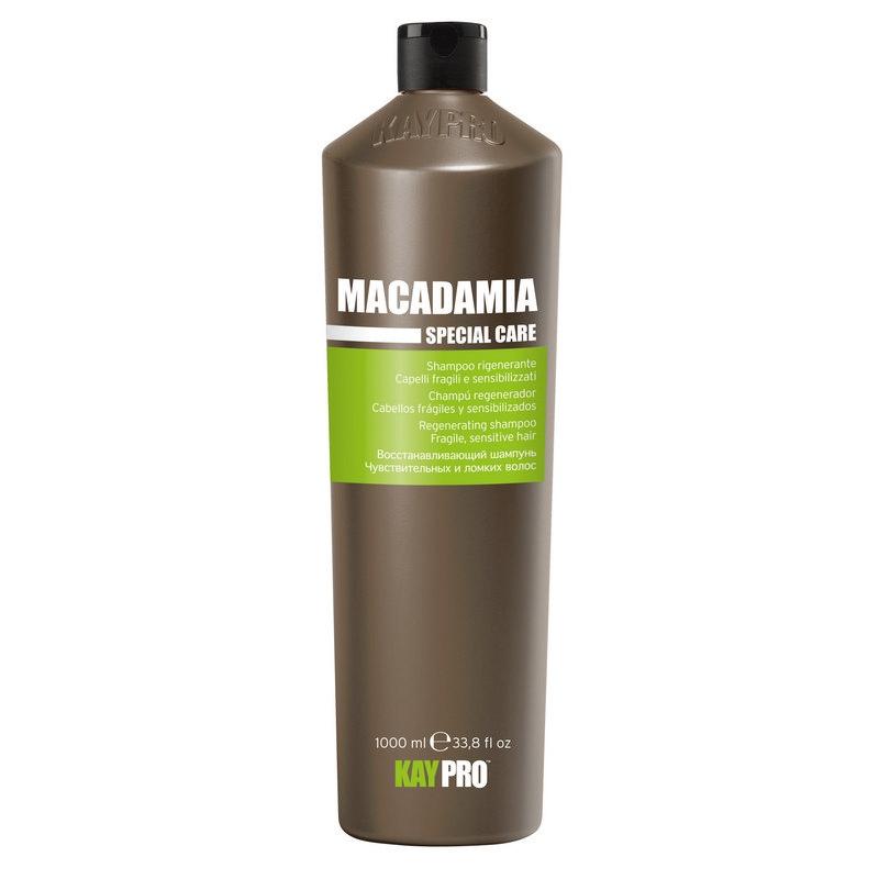 kaypro шампунь macadamia KAYPRO Шампунь Macadamia Увлажняющий с Маслом Макадамии, 1000 мл
