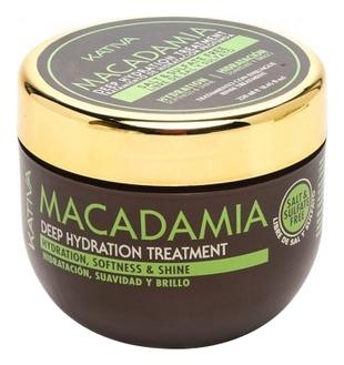 Kativa Маска Macadamia Интенсивно Увлажняющая для Нормальных и Поврежденных Волос, 250 мл